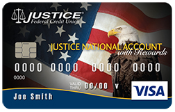 Justice National Account Debit Card